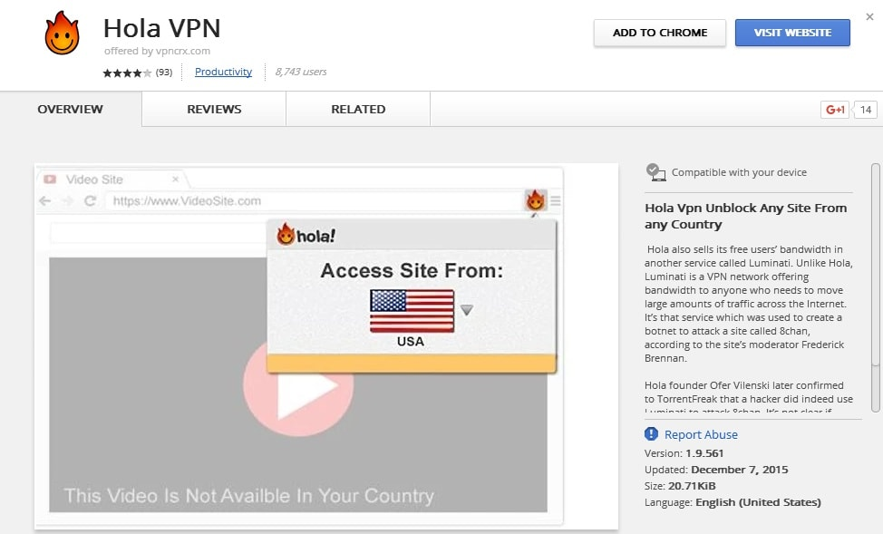 How to change android vpn