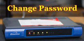 How to Change Wi-Fi Password on Binatone DT-850W Modem/Router ?