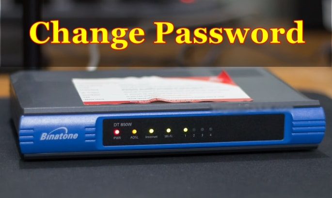 How to Change Wi-Fi Password on Binatone DT-850W?