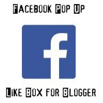 Add Facebook Popup Like Box Widget in Blogger