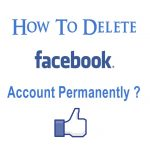 How to Delete Facebook Account Permanently ? 2018