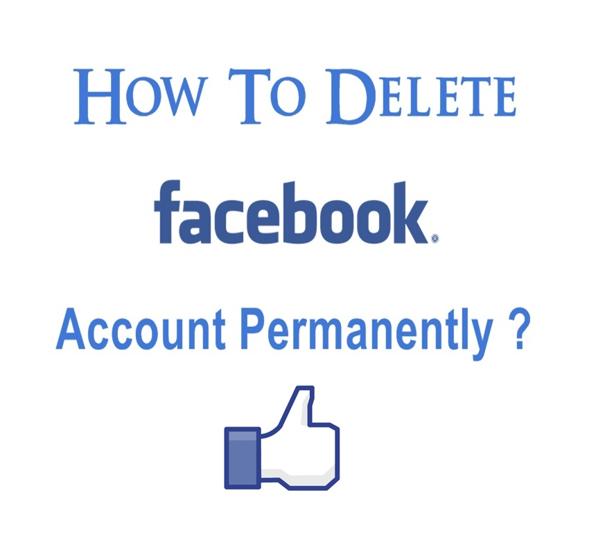 How to Delete Facebook Account Permanently 2017 ?
