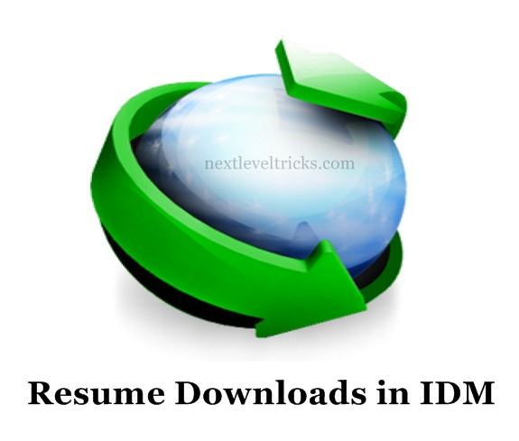 How to Resume Download in IDM(Internet Download Manager) ?