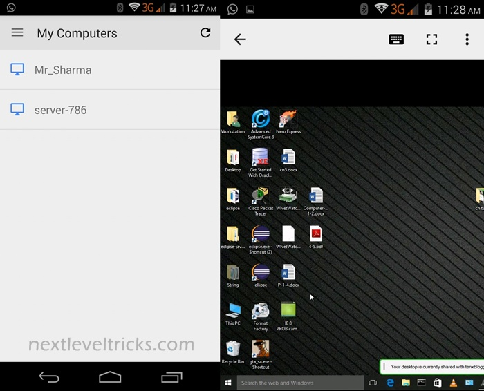 Control PC with Your Android Phone