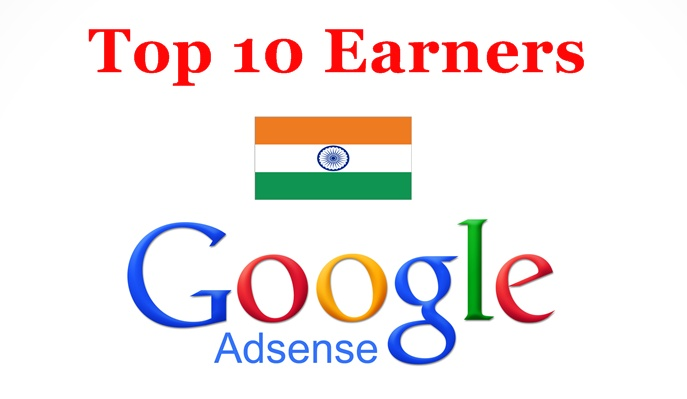 Top 10 Adsense Earners in India