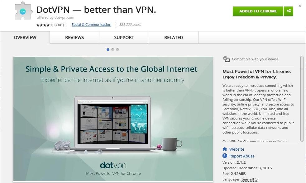 Top 10 Best VPN Chrome Extensions