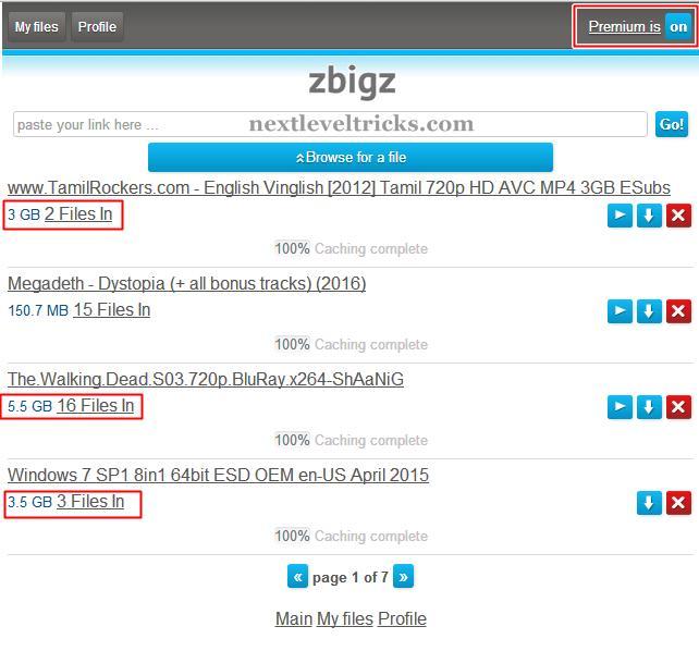 Zbigz Premium Account 2016 [No Survey]