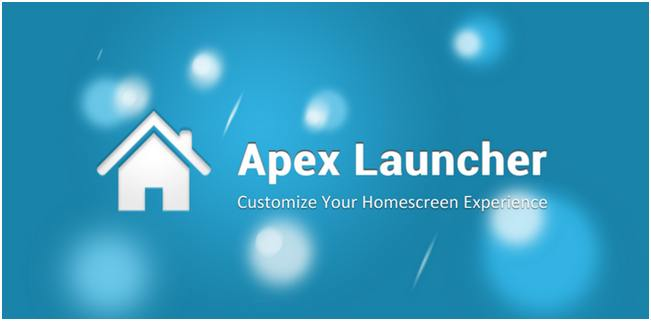 Apex launcher | Best for Customization