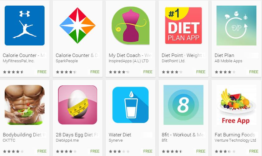 Best Diet Android Apps