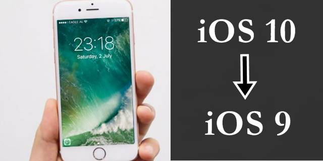How to Uninstall / Downgrade iOS 10 to iOS 9