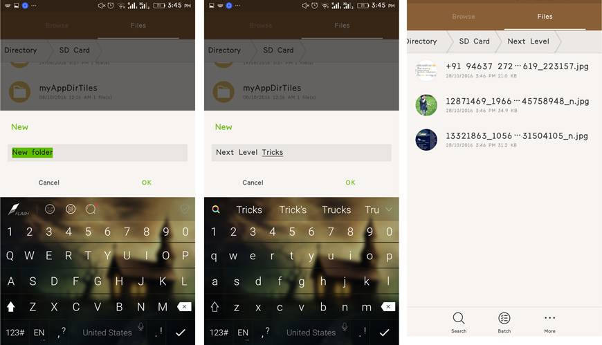Hide Folder & Files In Android Without any App -1