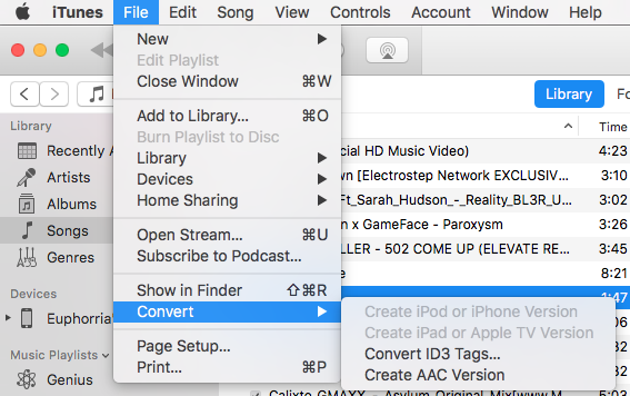 iTune settings to set Ringtone on iPhone -2