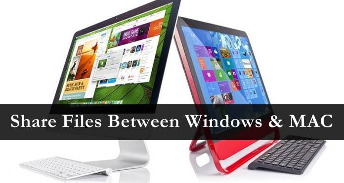 How to Share Files Between Windows and Mac OS Easily