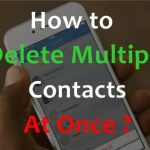 How to Delete Multiple contacts at Once in iPhone ? Delete All Contacts at Once