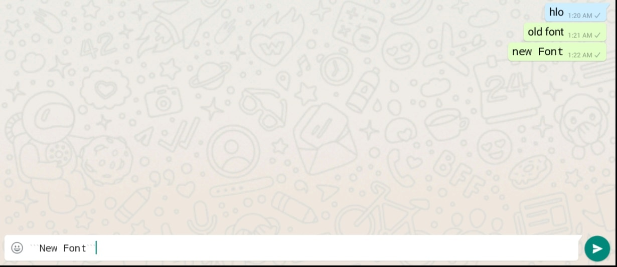 How to Send WhatsApp Messages in Cool Font Style