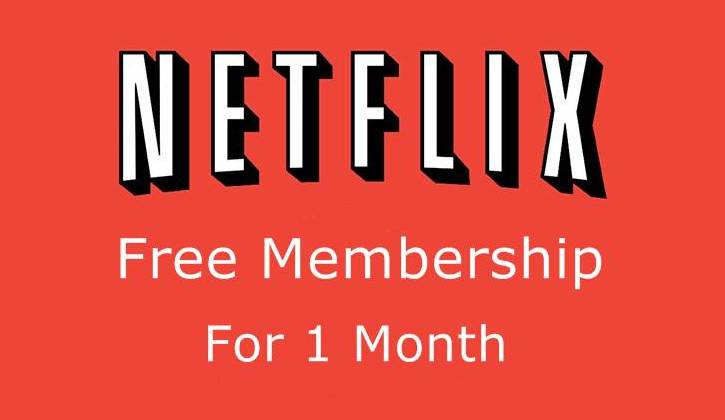 How to Get Free Netflix Account and Password with 1 Month Subscription ?