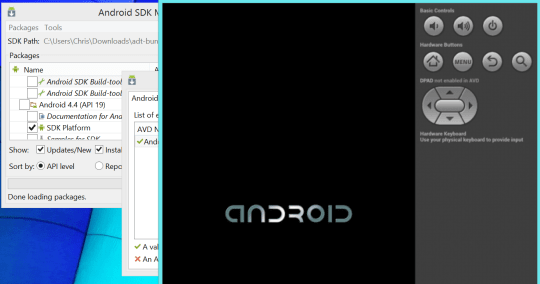 Install Android SDK to run Android Games on Windows/Mac