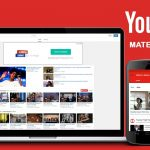 Open YouTube website in Material Design view
