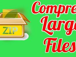Compress Large Files to Smaller Size using 7zip