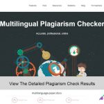 Reasons Why you Need to Choose Plagiarism Checking System