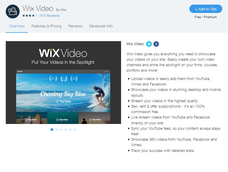 How to Upload a Video to a Wix Website