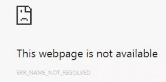 How To Fix ERR_NAME_NOT_RESOLVED Chrome Error in Windows 10 Chrome ?