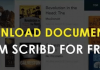 How to Download Document from Scribd in 2018