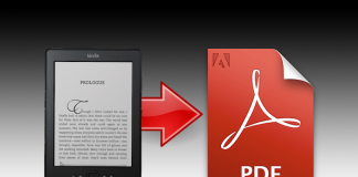 Convert Kindle to PDF Format