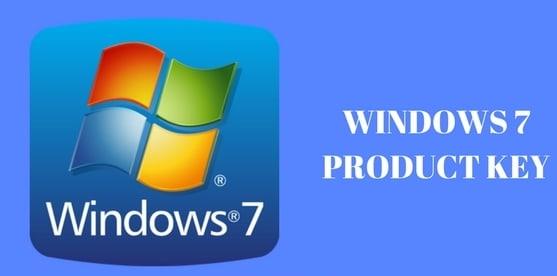 Windows 7 Professional Product Key for 32/64 Bit