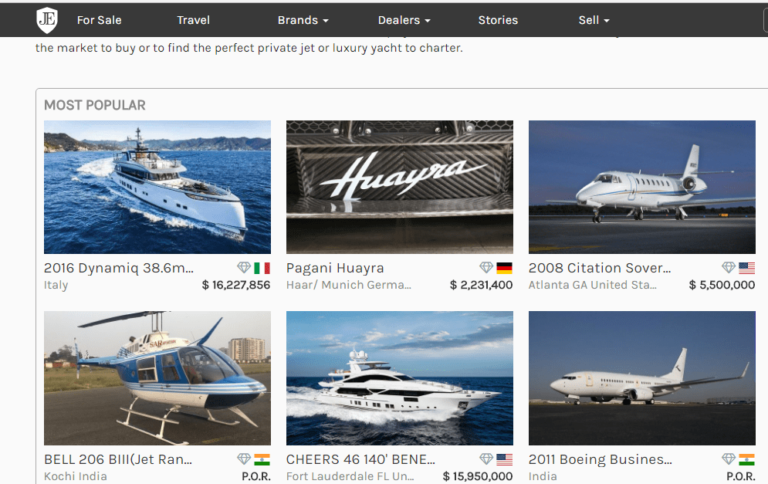 4 Websites for Super Rich People to make you feel poor