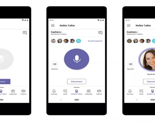 Microsoft Teams is Getting a Walkie Talkie Feature