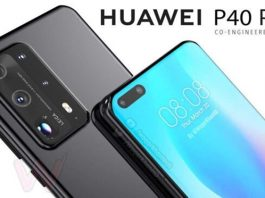 Huawei P40 Pro Display Lit Up in a Real Shot